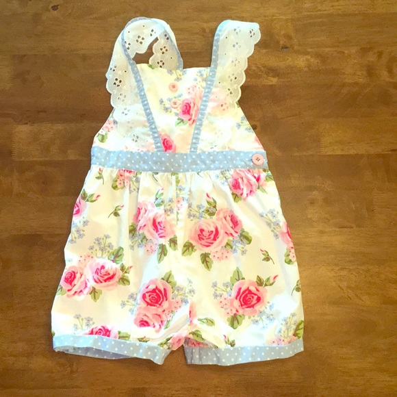2c940a27125 Eleanor Rose Other - Eleanor Rose French Roses romper